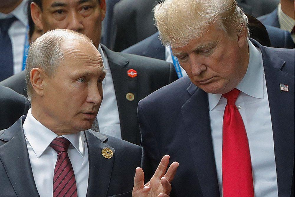 Путин  проинформировал Трампа обосновных итогах встречи сглавой КНДР Ким Чен ЫномвоВладивостоке