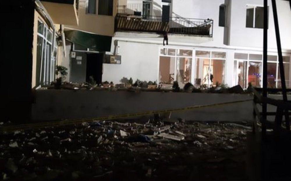 Что происходит наместе взрыва жилого дома вТбилиси