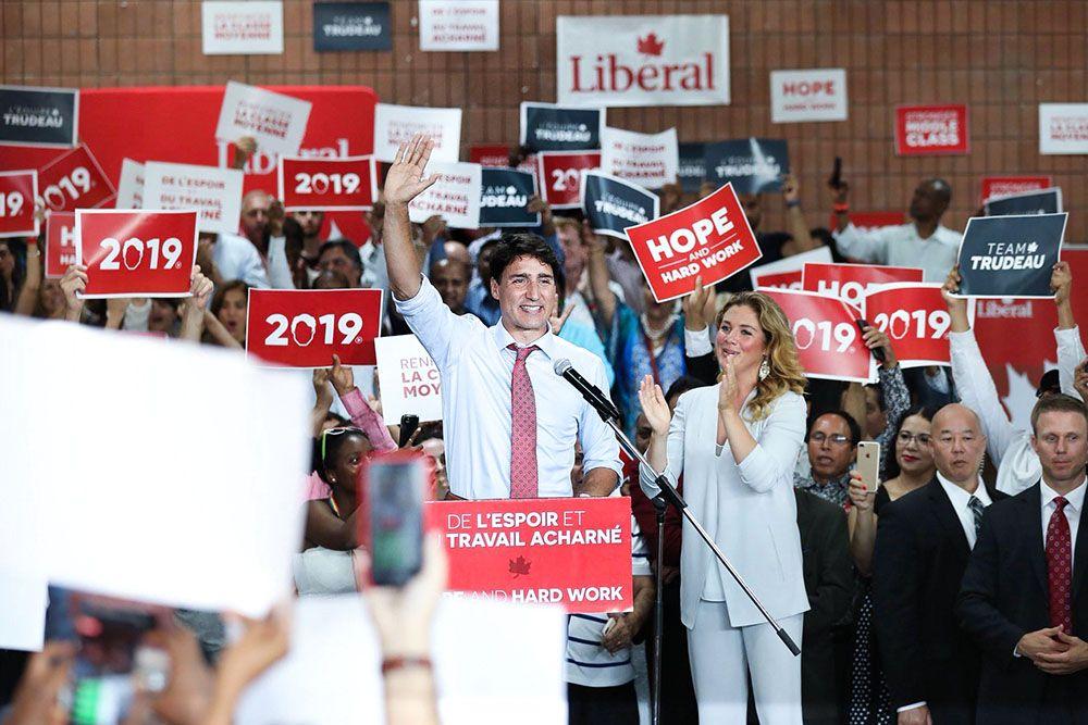 Премьер Канады хочет участвовать ввыборах 2019 года