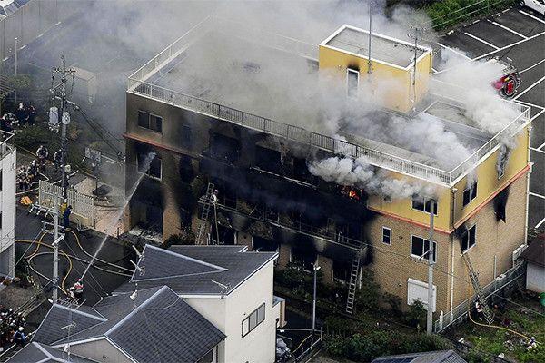 Больше 30 человек погибли при поджоге студии аниме в Киото