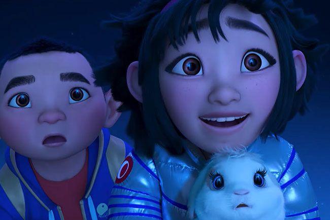 Netflix выпустил трейлер «До Луны» — мультфильма Глена Кина, который придумал, как будут выглядеть А