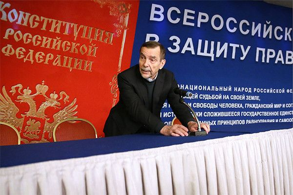 Лев Пономарев попросил президентский грант на продвижение верховенства международного права