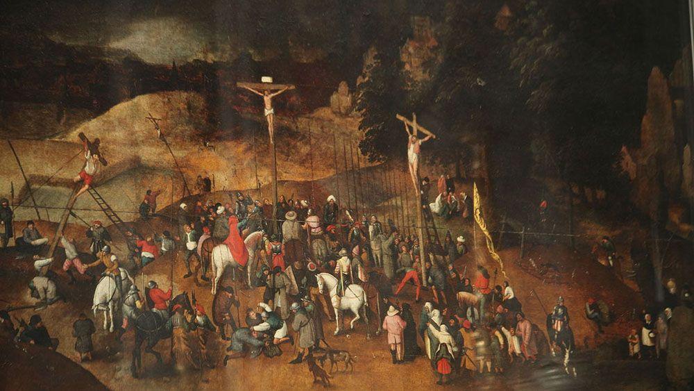 В Италии воры украли картину Питера Брейгеля-младшего которая оказалась копией