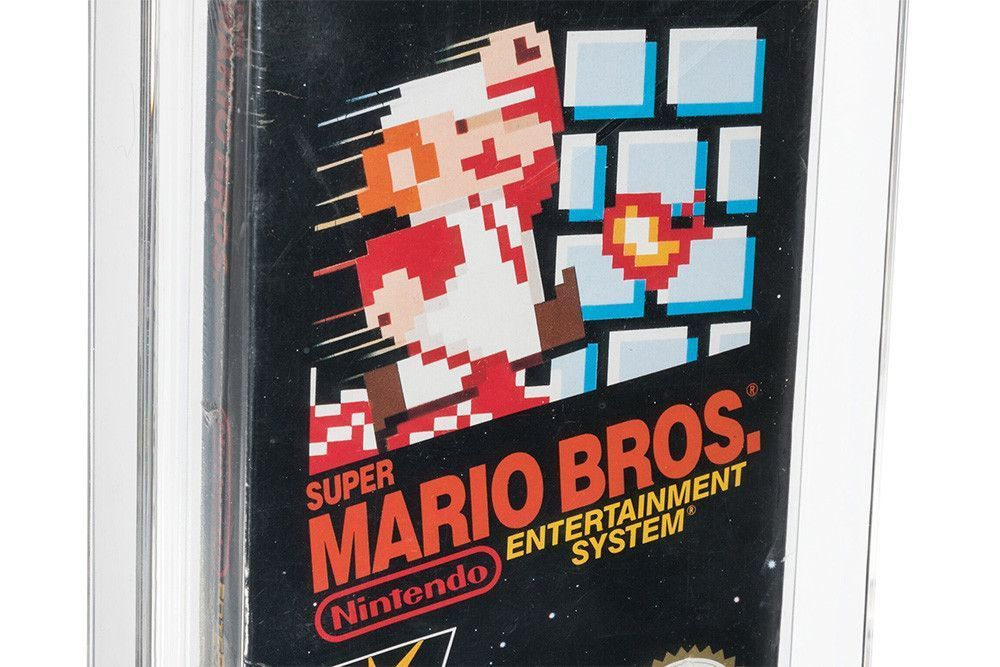 Картридж Super Mario, 35 лет пролежавший в столе, продали за $660 тысяч