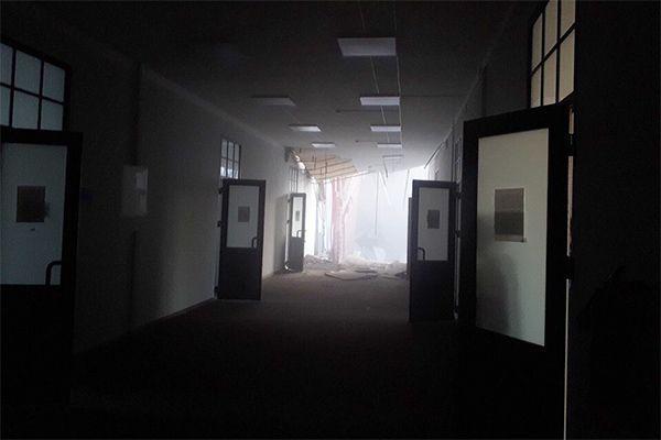 В Петербурге в здании ИТМО обрушились перекрытия