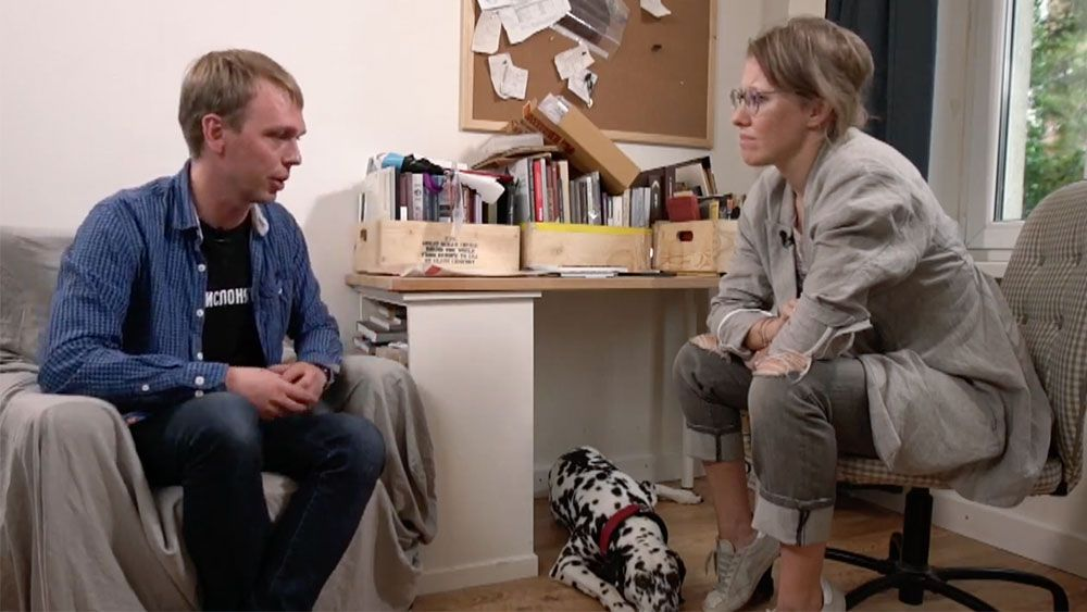 Мне так понравился Ваня Голунов в стрим-интервью (видео)