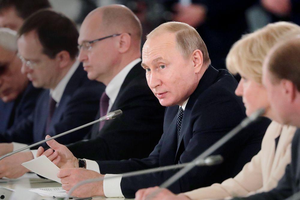 Путин призвал избегать крайностей сзапретами вмолодёжной культуре