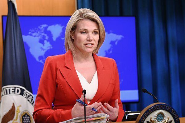 Пресс-секретарь Госдепа Хизер Науэрт отказалась занять пост представителя США при ООН