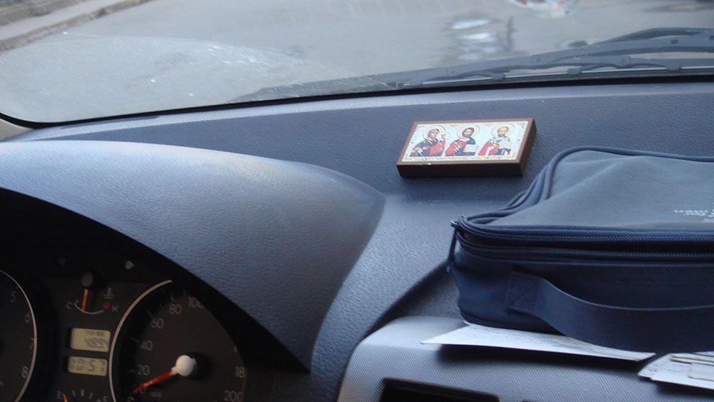 Автомобильный стробоскоп из фотовспышки