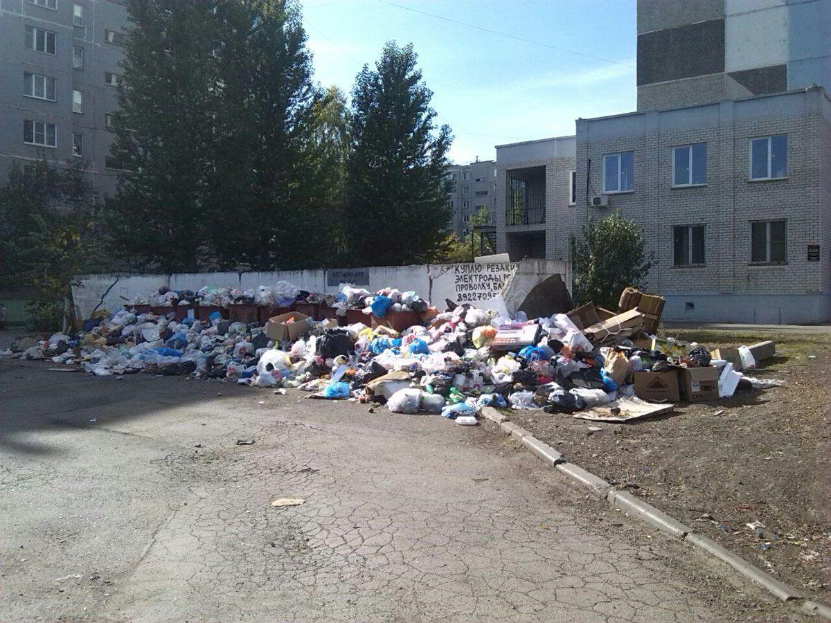 Режим повышенной опасности ввели вЧелябинске из-за мусора