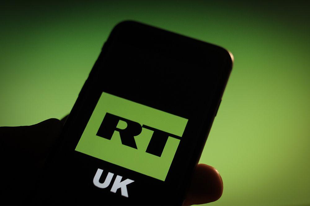 В Англии русский канал RTоштрафовали занеобъективность на £200 тыс.