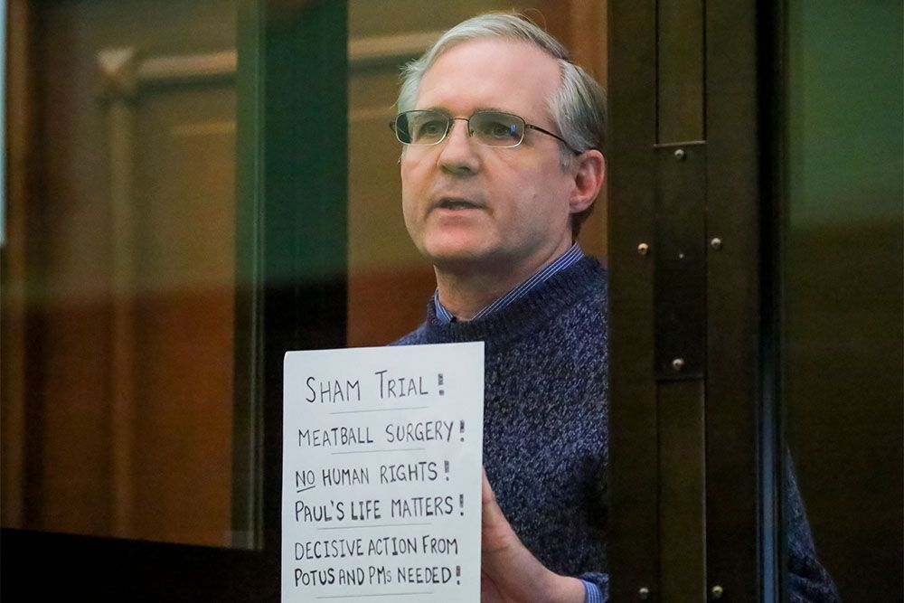 Jailed US national Paul Whelan will not appeal verdict in espionage case, opts to wait for prisoner exchange