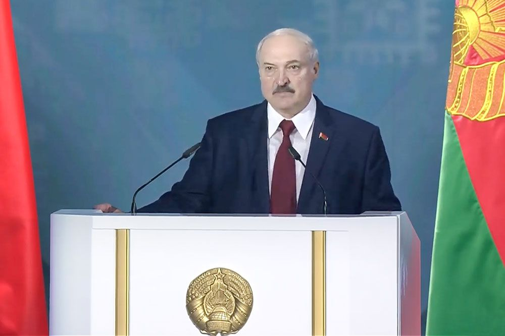 """Our planet is sliding towards the abyss"": Key quotes from Alexander Lukashenko's address ahead of the Belarusian presidential election"