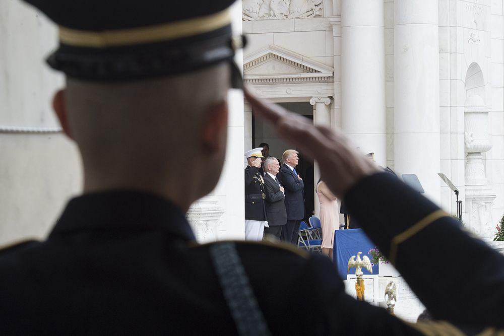 Пентагон перенес проведение военного парада вВашингтоне на 2019-й год
