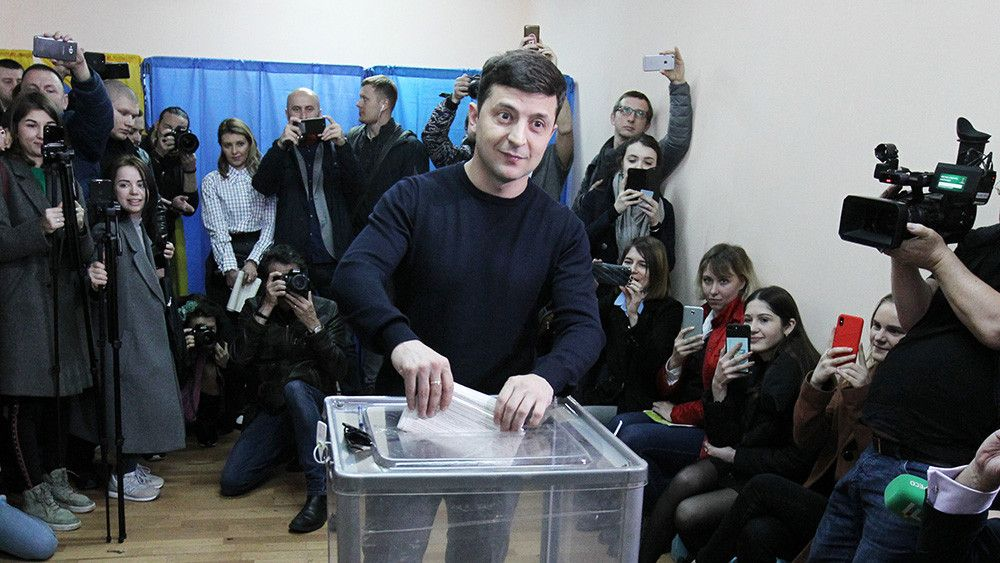 Первый экзит-пол на выборах президента Украины во втором туре
