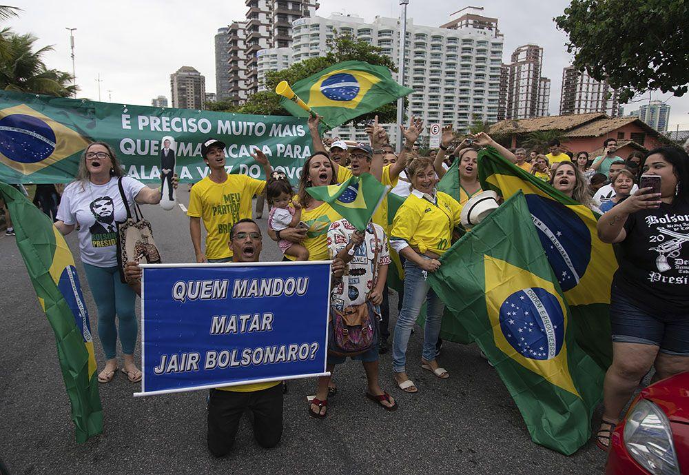 1-ый тур президентских выборов вБразилии невыявил победителя