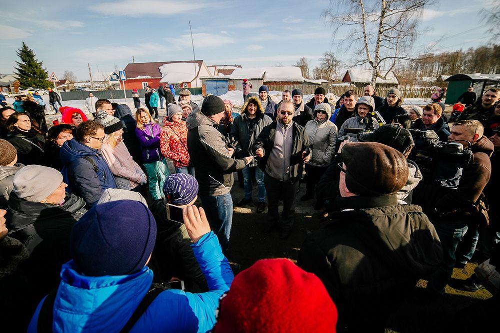 Силовики задержали участников акции против свалки вКоломне