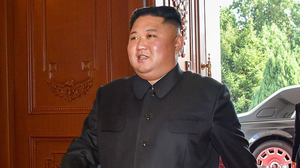 ВКНДР представили 1-ый официальный портрет Ким Чен Ына