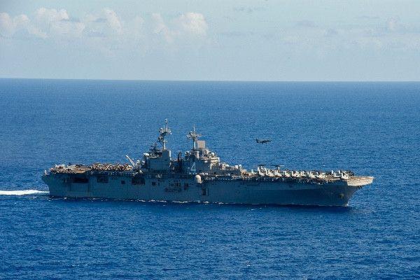 Трамп заявил, что корабль ВМС США сбил иранский дрон в регионе Ормузского пролива