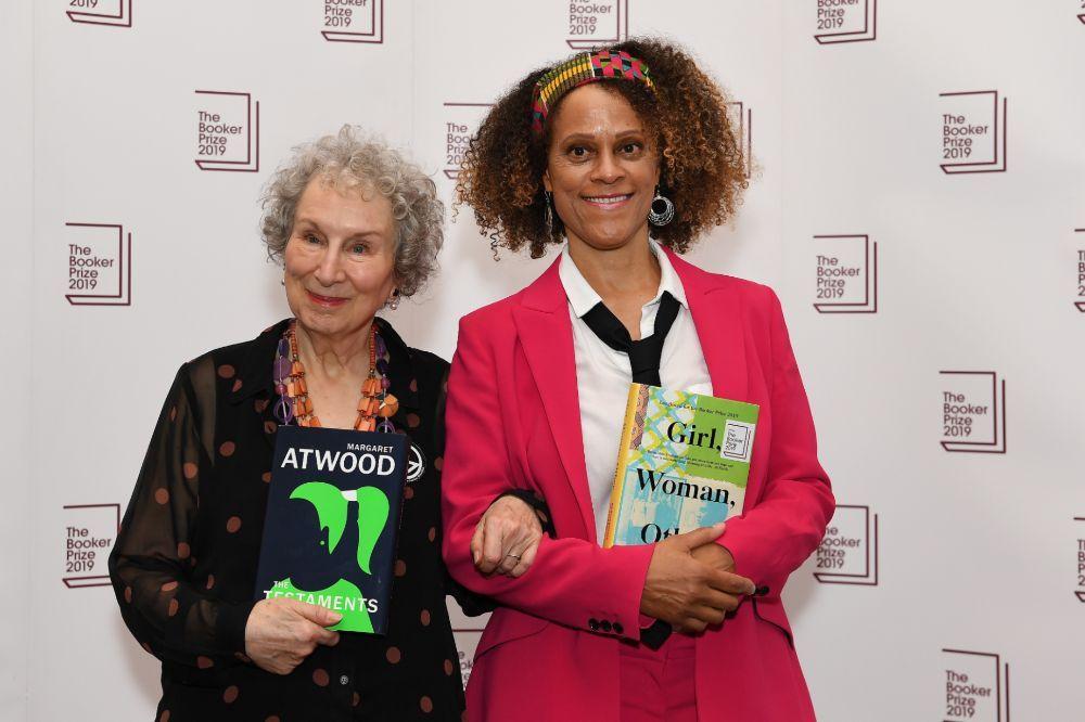 Картинки по запросу канадська письменниця Маргарет Етвуд і британка Бернардина Еваріст