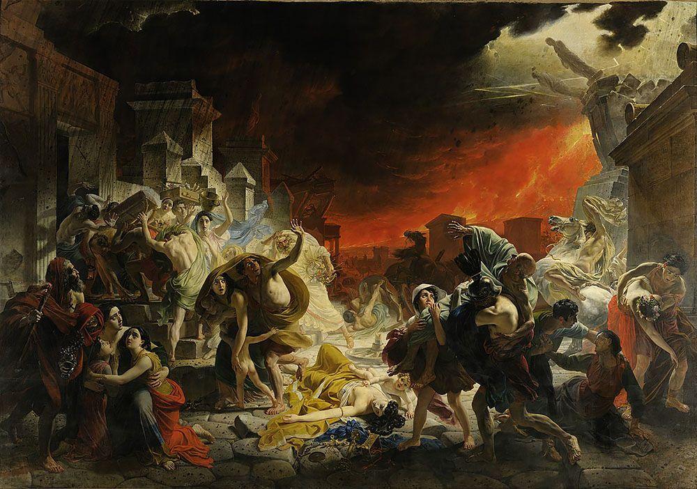 Археологи уточнили дату извержения Везувия, которое погубило Помпеи