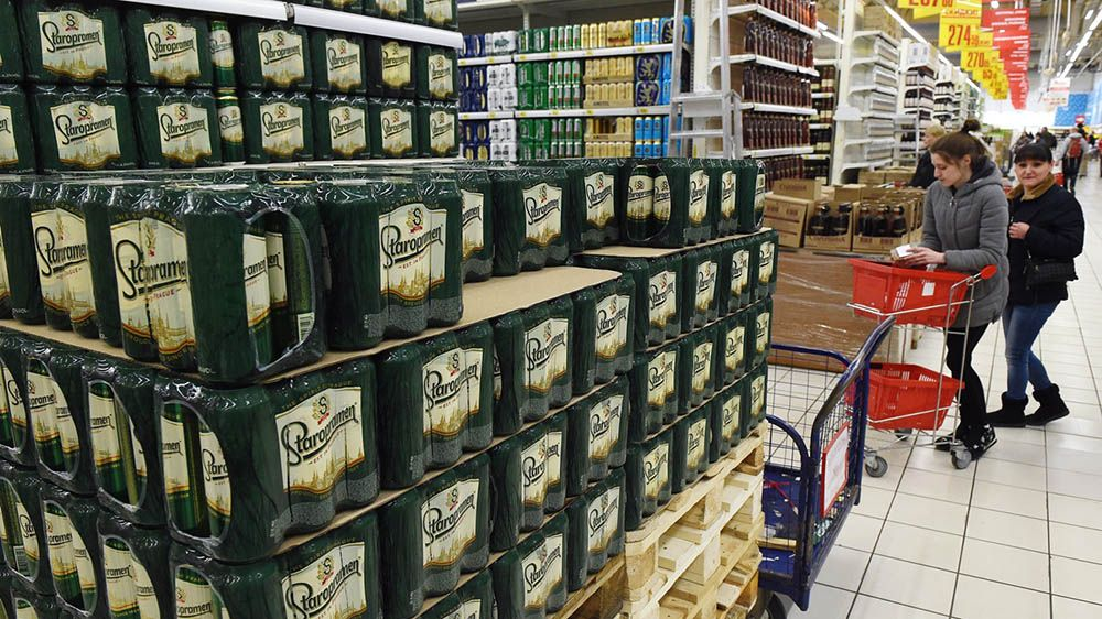Минпромторг будет сражаться сантироссийскими санкциями реализацией пива ночами