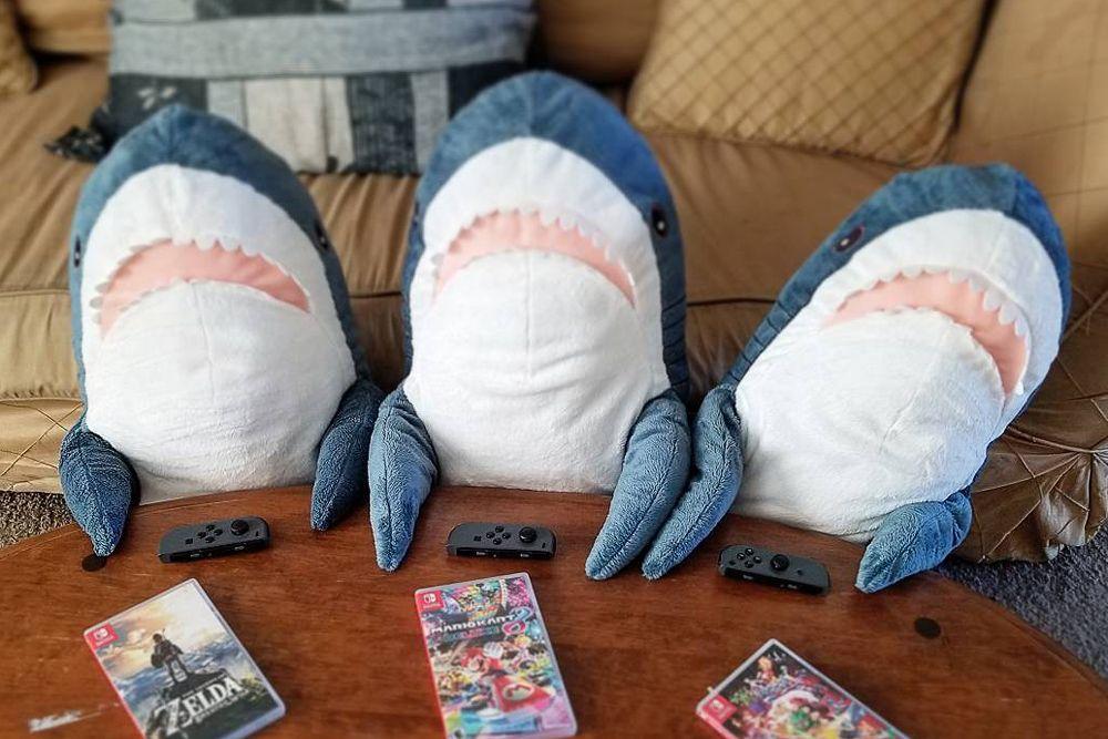 такое игрушка в виде акулы из Ikea оказалась настолько популярной