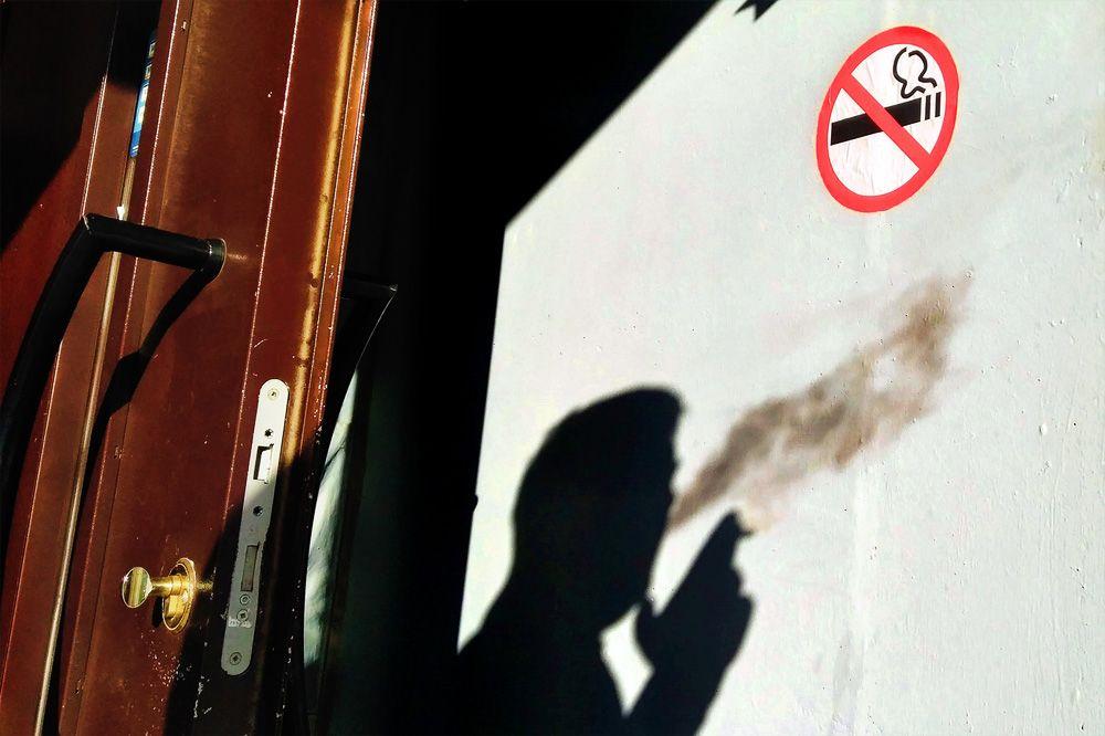 Запрет на курение на балконе прикольные картинки