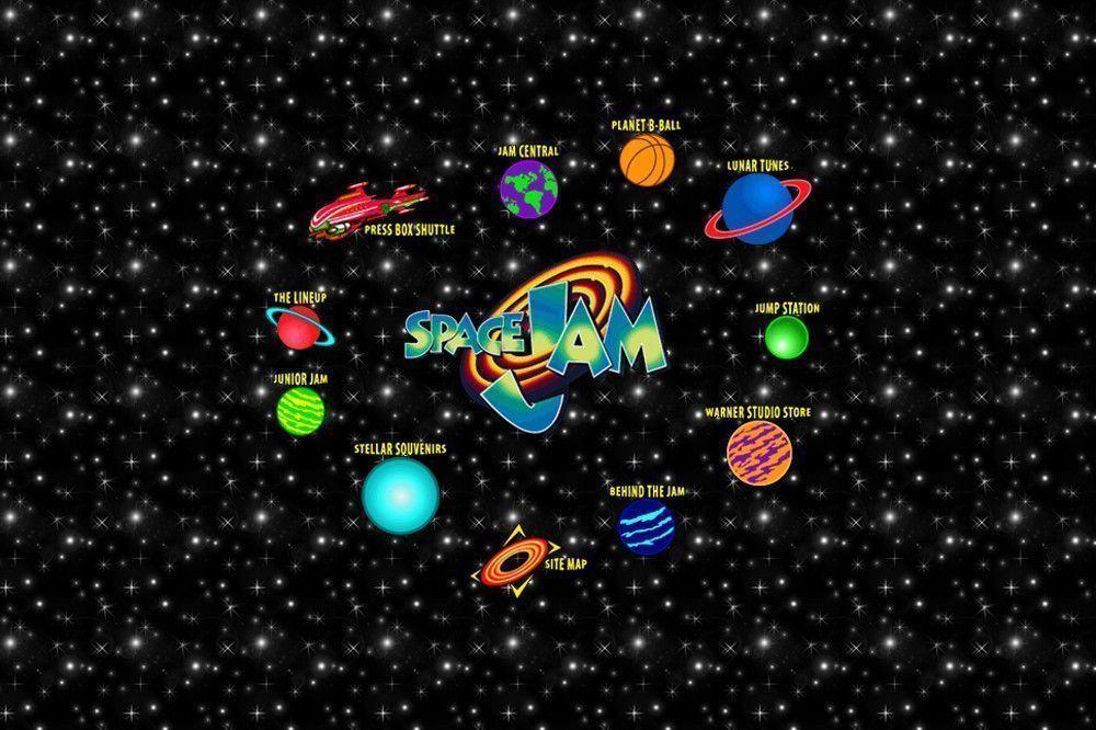 Сайт «Космического джема» обновился впервые с 1996 года в честь выхода сиквела