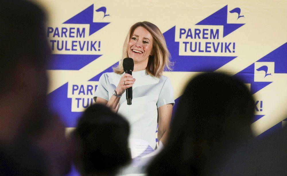 Кая Каллас глава Партии реформ Эстонии