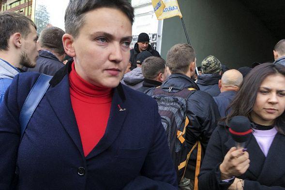 Украинский парламентарий обнародовал запрос прокуратуры наарест Надежды Савченко