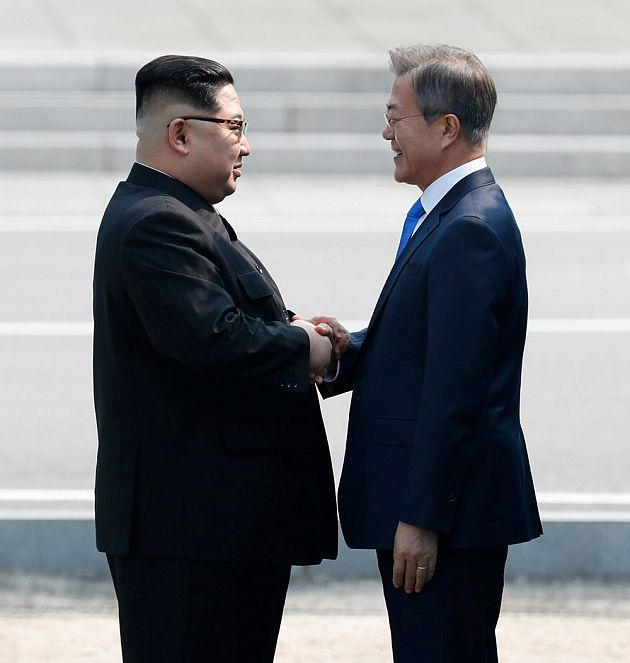 Korea Summit Press Pool / AP