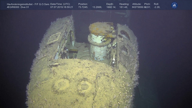 Norwegian Institute of Marine research /Ægir 6000