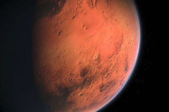 Ученые нашли наМарсе настоящее озеро сводой