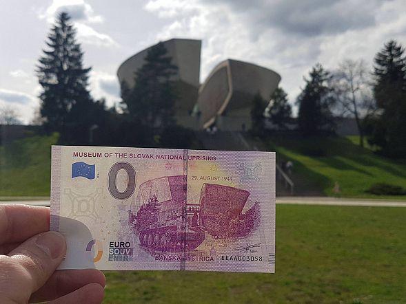 ВСловакии выпустили сувенирную банкноту в нуль евро