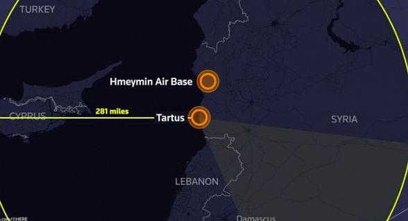 Размещено видео перехвата американских ракет вовремя удара поСирии