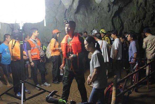 Впещере Кхао Луанг вТаиланде пропала футбольная команда
