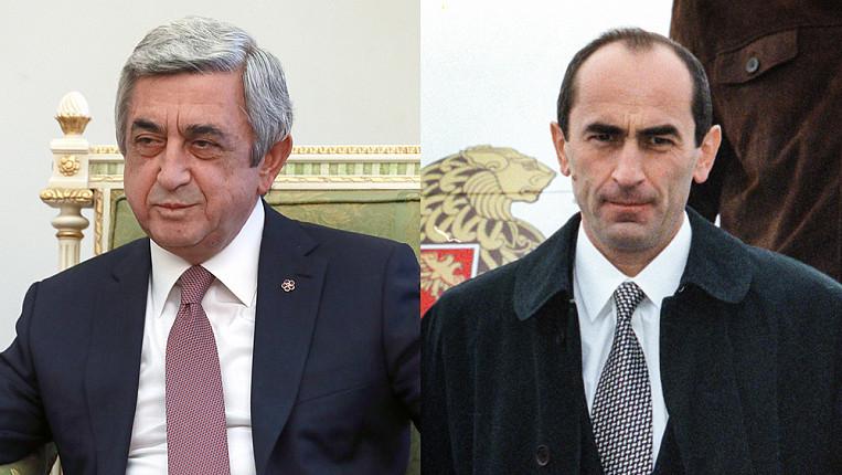 Эфир: В Армении судят сразу двух бывших президентов. Сержа ...