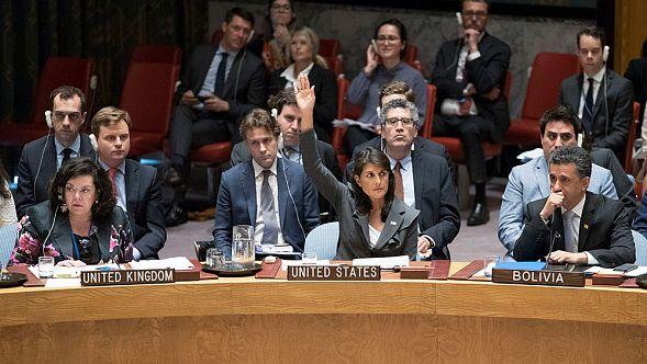 США— США вышли изСовета ООН поправам человека