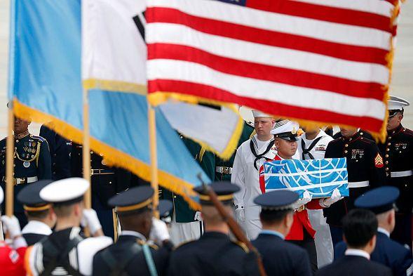 КНДР сообщила США останки погибших американских солдат