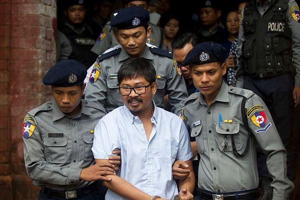 Суд вМьянме обвинил корреспондентов Reuters вполучении секретных документов