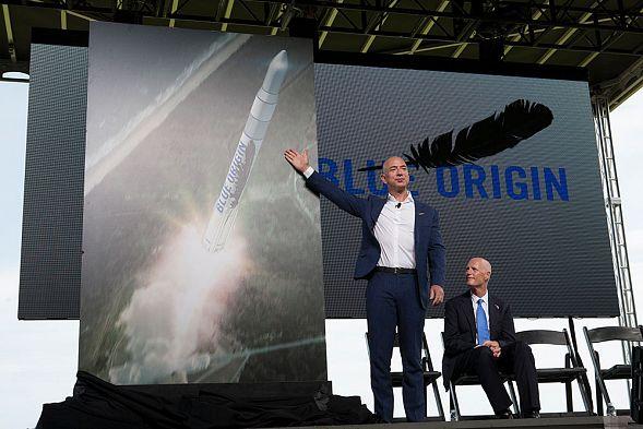 Слетать вкосмос накорабле Безоса можно будет за $200-300 тыс.