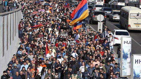 Акции протеста в Ереване