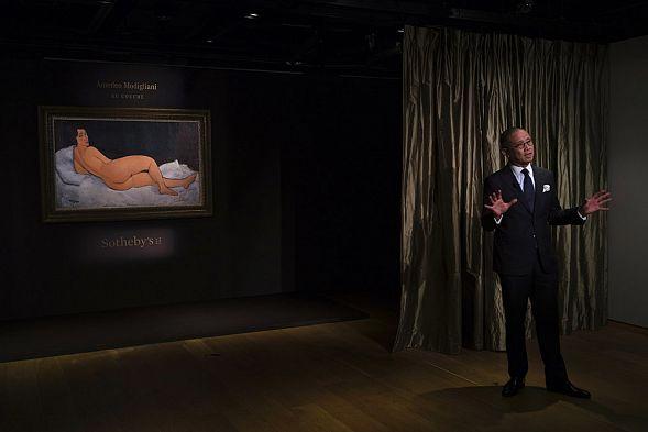 Картину Модильяни выставили на аукцион по рекордной цене