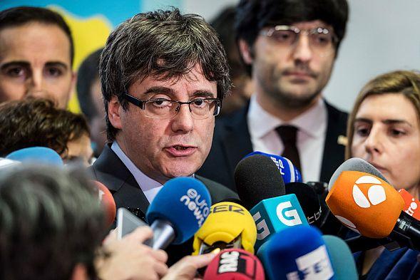 ВИспании арестовали пятерых каталонских политиков, обвиняемых вмятеже